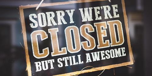 1 oktober 15:00 dicht