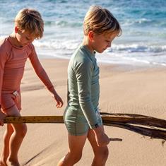 Beach & Bandits BASIL RIBBED SWIMSHORT UPF 50+ KIDS