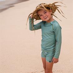 Beach & Bandits BASIL RIBBED TEE UPF 50+KIDS UNISEX LYRCA LS
