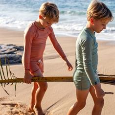 Beach & Bandits CLAY RIBBED SWIMSHORT UPF 50+ KIDS