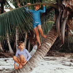 Beach & Bandits REEF RIBBED SWIMSHORT UPF 50+ KIDS UNISEX