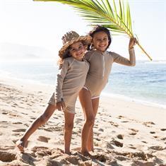 Beach & Bandits SAND RIBBED TEE UPF 50+ KIDS UNISEX LYCRA LS