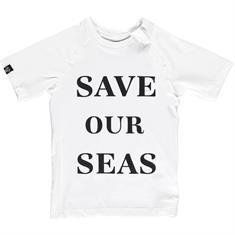 Beach & Bandits SAVE OUR SEAS TEE UPF 50+ KIDS UNISEX LYCRA SS