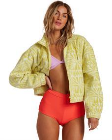 Billabong Cheeko - Zip-Up Polar Fleece for Women
