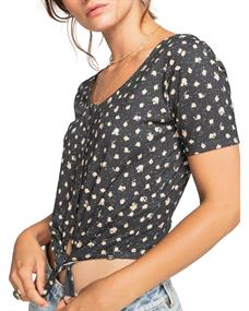 Billabong Girly - Short Sleeve Knit Top for Women