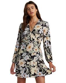 Billabong Lotta Love - Mini Wrap Dress for Women
