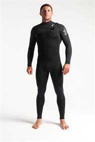 C-Skins SESSION 3:2 MENS GBS CHEST ZIP STEAMER - Wetsuit Heren