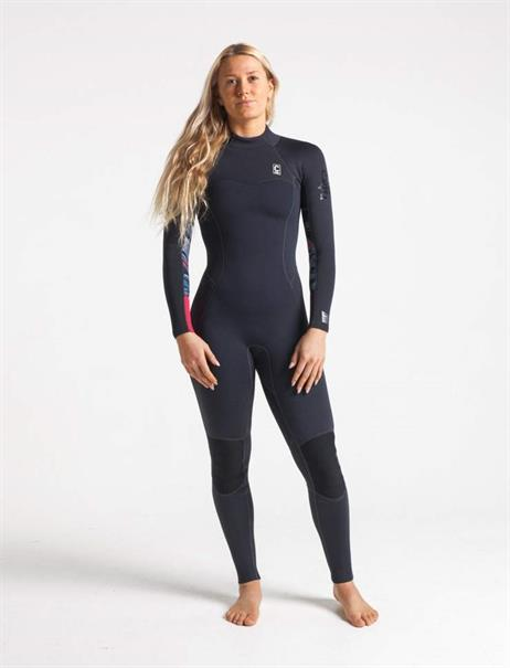 C-Skins Solace 3:2 Womens GBS back zip