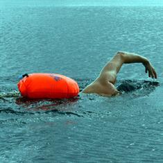 C-Skins Swim Research Swim Buoy Bry Bag - 28L Oranje