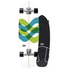 """Carver Triton CX Raw 31"""" Signal Surfskate Complete"""