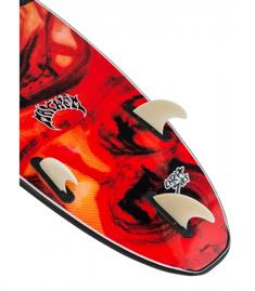 Catch x Lost Crowd Killer softtop surfboard