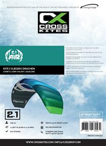 Cross Kites Air 2.1 Blue-Green