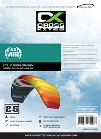 Cross Kites Air 2.5 Red-Yellow