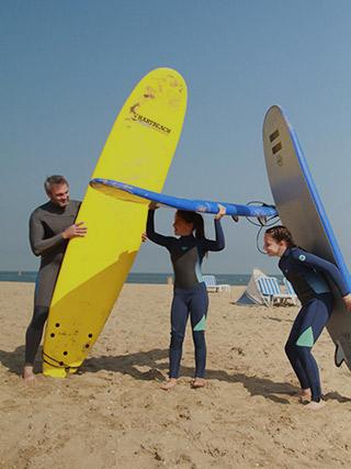 Dad's Surf fourblocks banner 1