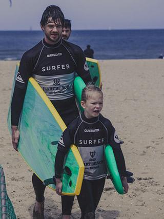 Dad's Surf fourblocks banner 4