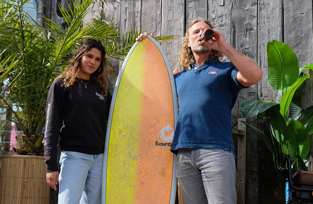 Dad's Surf main banner Mobile