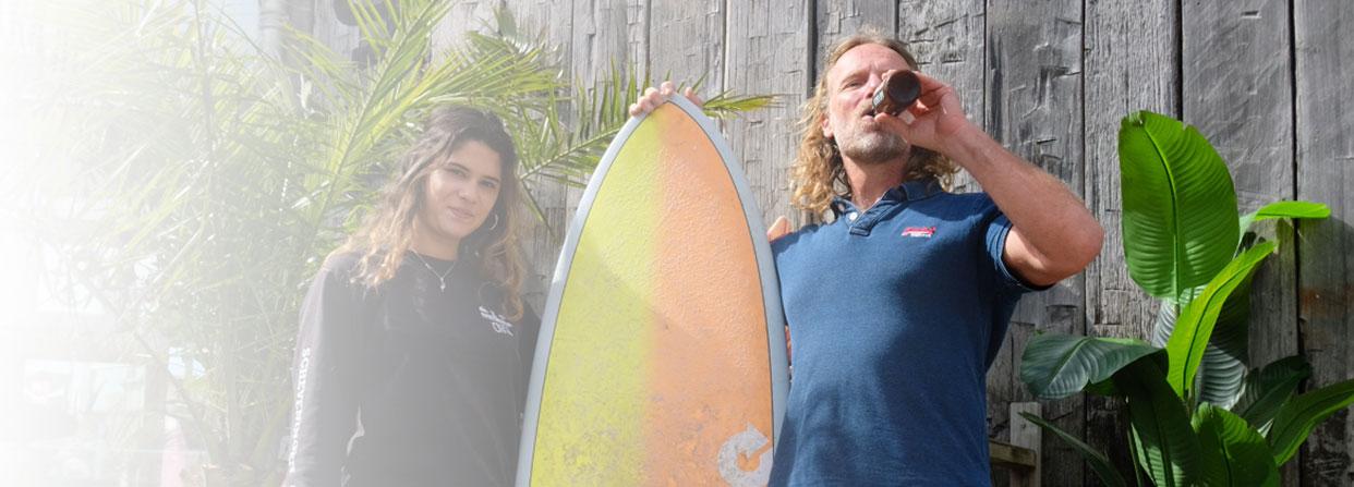 Dad's Surf main banner