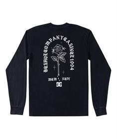 DC shoes Singled Out - T-shirt met Lange Mouw voor Heren