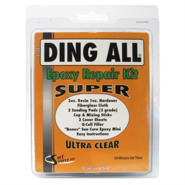 Ding All Super Epoxy kit-DAEPOXY232E Clear