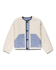 Element Augusta Pile - Omkeerbare Sweater met Knoopsluiting voor Dames