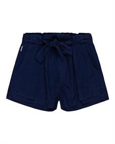 Element Miki Indigo - Paperbag Shorts for Women