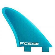 FCS LB-1 Tri Fin Set Blauw tinten