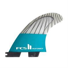 FCS Performer PC Carbon Teal Medium Tri Diverse tinten