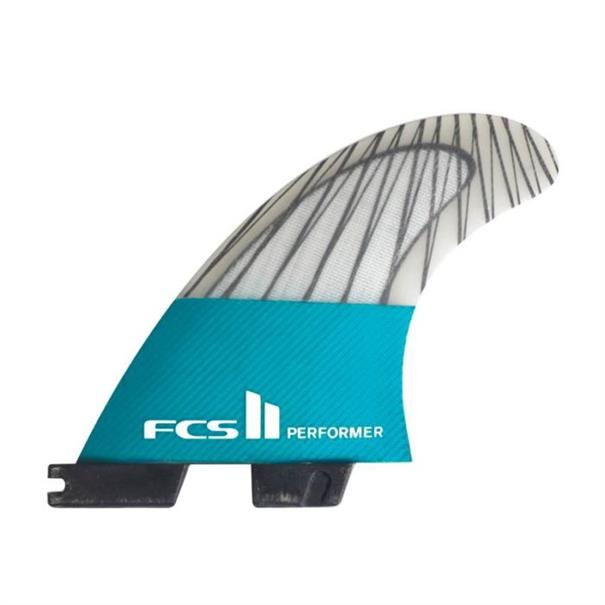 FCS Performer PC Carbon Teal Medium Tri