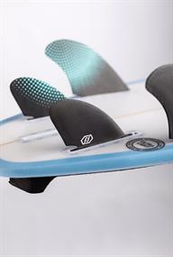 Feather Fins SEMI KEEL QUAD. SINeo GlassLE TAB