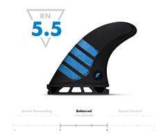 Future fins F6 Alpha Carb/Blu Medium