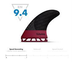 Future fins F8 Blackstix Thruster Surfboard Fins