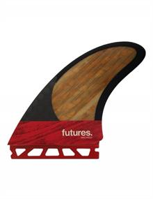Future fins MACHADO TWIN +TRAILER BLACKSTIX RED