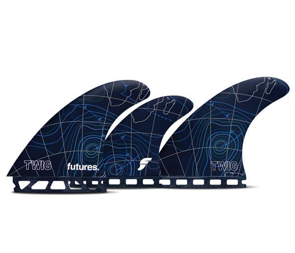 Future fins Twiggy 5 Fin Surfboard Fins
