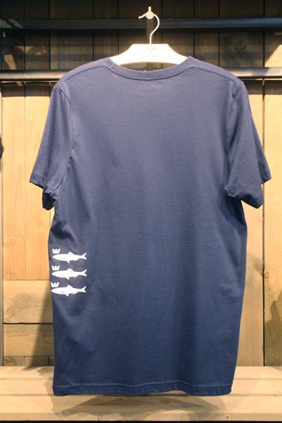 Hart Skiffa Fish Blauw tinten