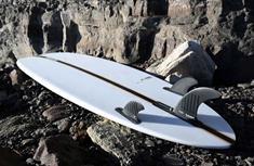 Hayden Glider Mid Length PU FCSII Surfboard