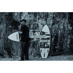 Hayden Raven PU Futures surfboard