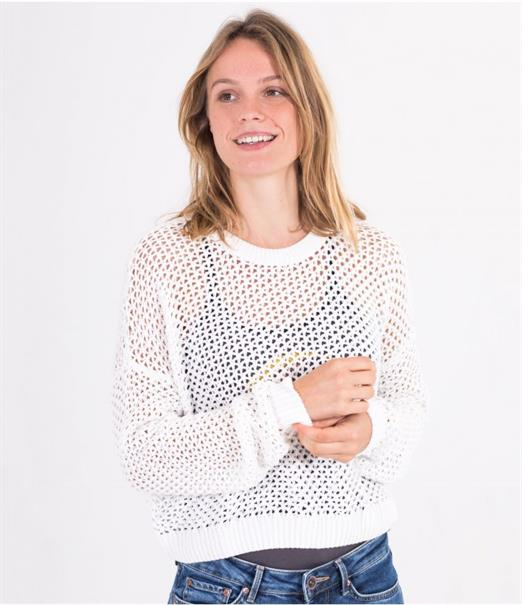 Hurley CROP KNIT SWEATER