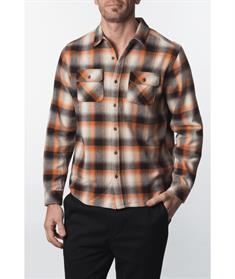 Hurley M SANTA CRUZ HVWT FLANNEL -Shirt Long sleeve