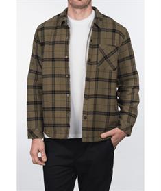 Hurley M SANTA CRUZ SHERPA LINED SHACKE--Shirt Long sleev