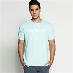 Hurley One & Only Push-Through Tee Aqua