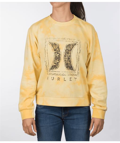 Hurley W CLOUDY NIGHT GIRLFRIEND CREW-Sweater