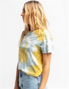 Hurley W COASTAL VIBES CROPPED CREW - T-shirt short sleev