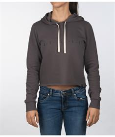 Hurley W SAPPHIRE PALM CUT OFF HOODIE-Sweater