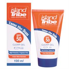 Island tribe SPF 50 Clear Gel 100ml Diverse tinten