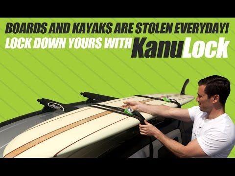 kanulock Lockable Tiedown Set 5.4m