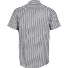 Kronstadt Johan striped henley s/s shirt