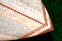Kun Tiqi 60's Singlefin US Box Surfboard