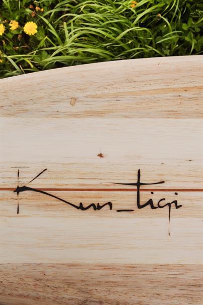 Kun Tiqi 70's Singlefin US Box Surfboard