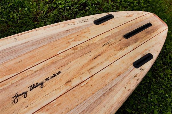 Kun Tiqi Performer Single + Sides US Futures Surfboard