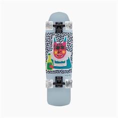 "Landyachtz Dinghy Shape 9 Chartreuse 28.5"" Cruiser Skateboard"